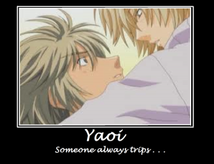 Yaoi Motivational Poster