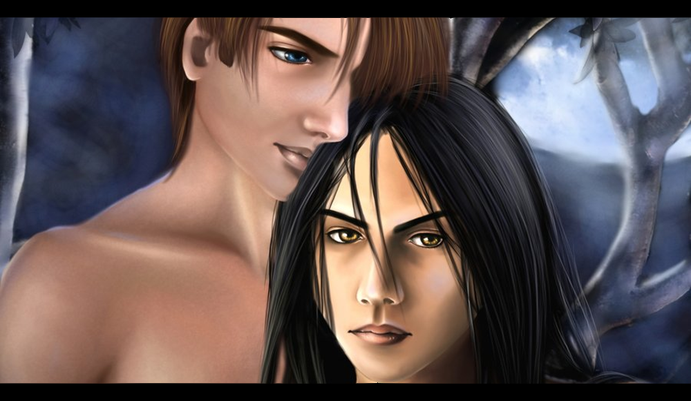The First Full Moon - Paranormal Yaoi, M/M Romance