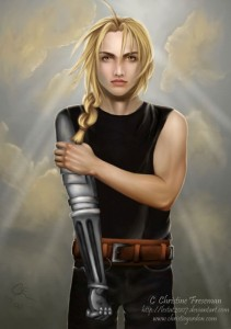Yaoi, Fan Art - Edward Elric - Out of the Storm