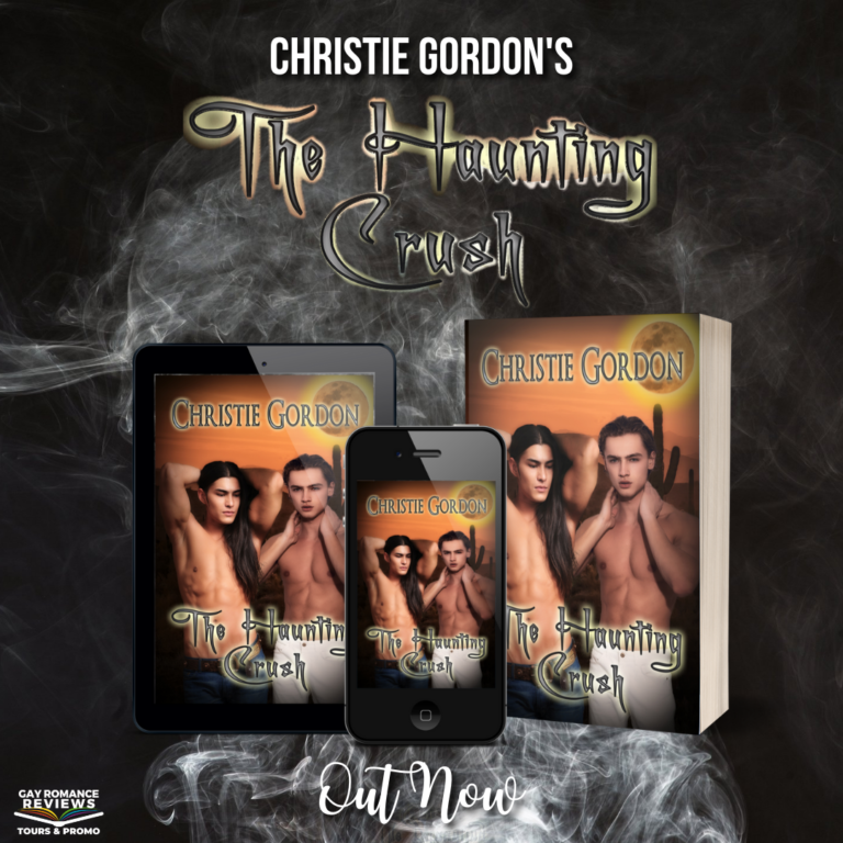The Haunting Crush: Yaoi, MM Romance Mystery Out Now